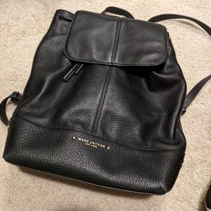 Marc Jacobs leather black back pack